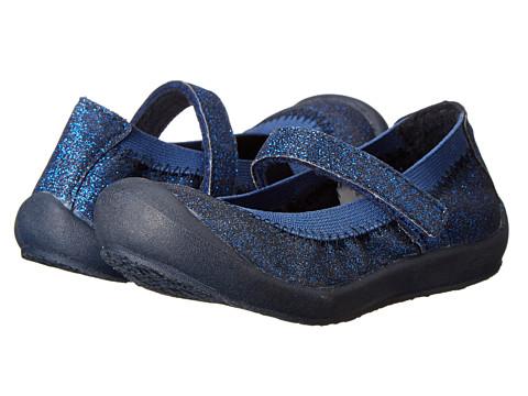 Hanna Andersson - Maya (Toddler/Little Kid/Big Kid) (Navy Glitter) Girls Shoes