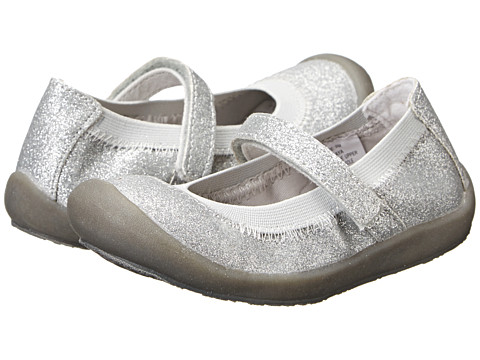 Hanna Andersson - Maya (Toddler/Little Kid/Big Kid) (Silver Glitter) Girls Shoes