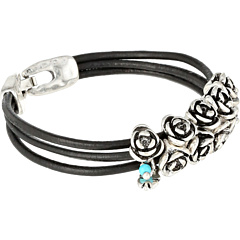SALE! $17.99 - Save $7 on Lucky Brand Bead Woven Bracelet (Silver) Jewelry - 28.04% OFF $25.00