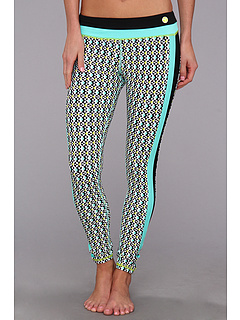 SALE! $49.99 - Save $46 on Trina Turk Full Length Leggings (Seafoam) Apparel - 47.93% OFF $96.00