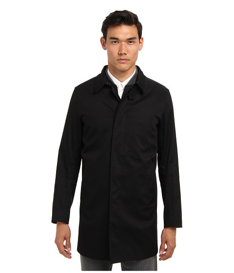 Vince - Jersey Bonded 3-in-1 Mac Jacket (Black) Men