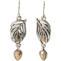 SALE! $14.99 - Save $10 on Lucky Brand Open Feather Drop Earring (Multi) Jewelry - 40.04% OFF $25.00