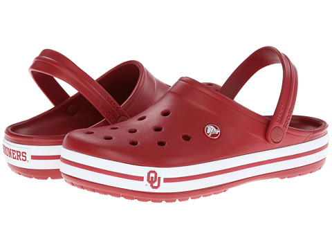 Crocs - Crocband Collegiate Clogs (Oklahoma) Clog Shoes