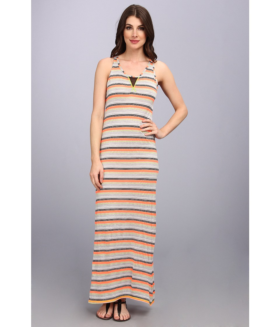 Trina Turk - Maxi Dress (Hot Coral) Women's Dress