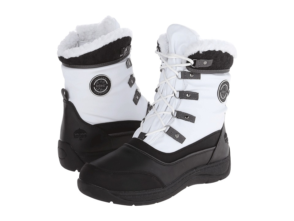 Totes - Valley (White) Women's Cold Weather Boots