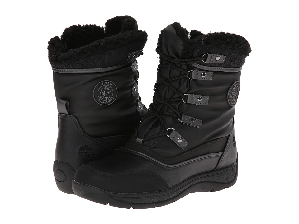Totes - Valley (Black) Women's Cold Weather Boots