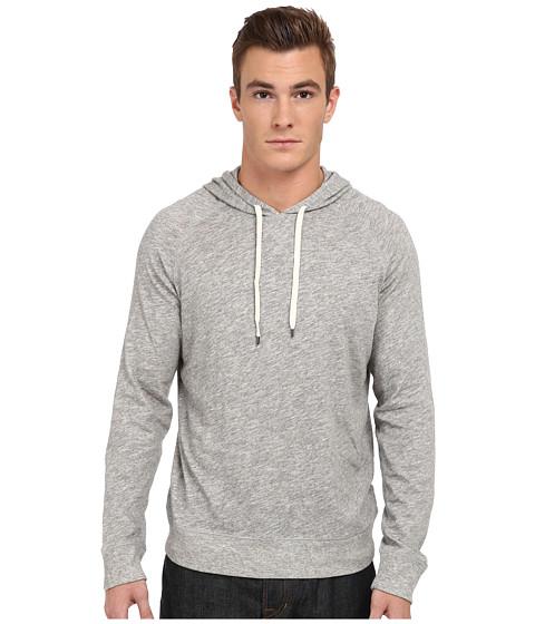 Vince - Heathered Pullover Hoodie (Heather Cinder) Men's Sweatshirt
