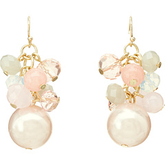 SALE! $14.99 - Save $29 on Leslie Danzis Beaded Cluster Earring (Pink) Jewelry - 65.93% OFF $44.00