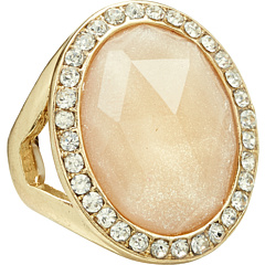 SALE! $17.99 - Save $42 on Leslie Danzis Oval Stone Stretch Ring (Pink) Jewelry - 70.02% OFF $60.00