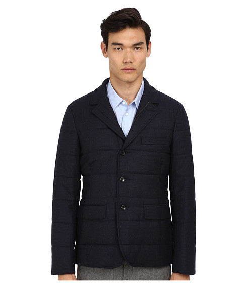 Vince - Quilted Blazer (Navy) Men's Jacket