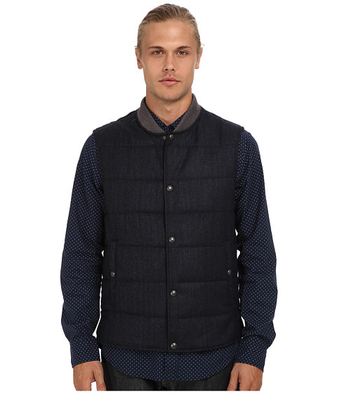 Vince - Quilted Vest (Navy) Men
