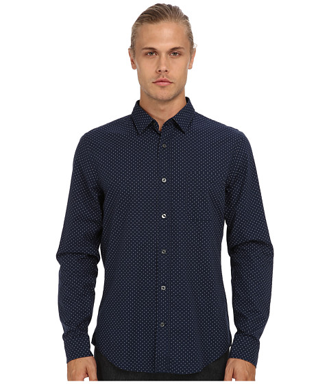 Vince - Utility Pocket Button Up (Coastal) Men