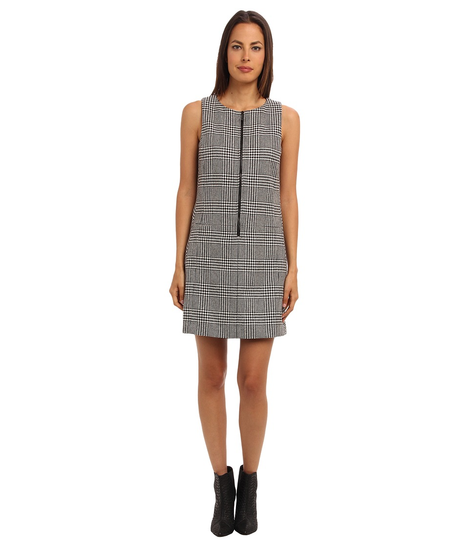 Paul Smith - Zip Front Dress (Black/White) Women's Dress