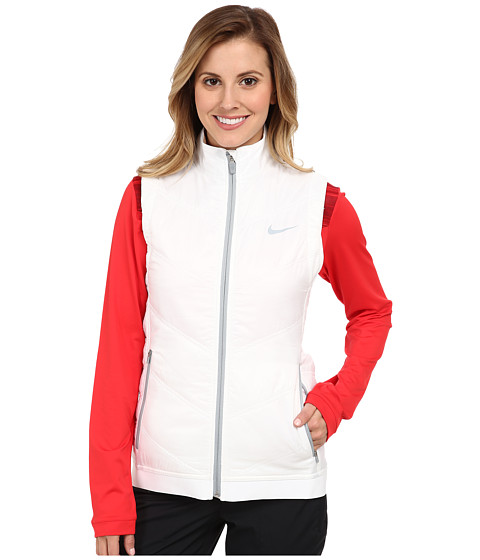 Nike Golf - Thermal Mapping Vest (White/Light Magnet Grey) Women