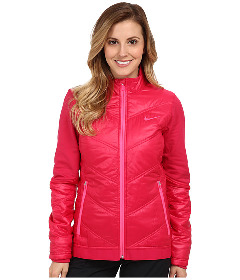 Nike Golf - Thermal Mapping 3D Jacket (Fuchsia Force/Light Magnet Grey) Women
