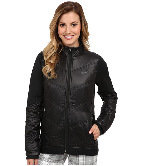 Nike Golf - Thermal Mapping 3D Jacket (Black/Anthracite) Women's Coat