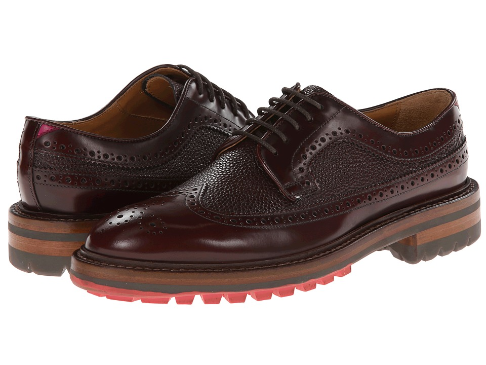 Paul Smith - Men Only Hutton Oxford (Bordo) Women's Lace up casual Shoes