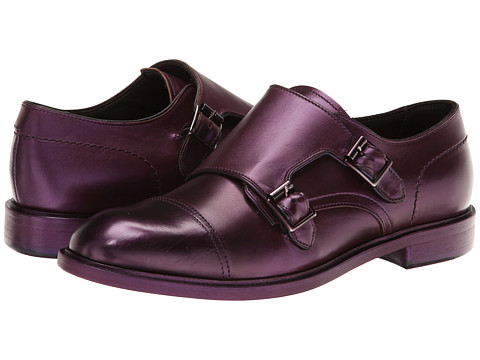 Paul Smith - Men Only Consul Monkstrap (Purple) Women's Monkstrap Shoes