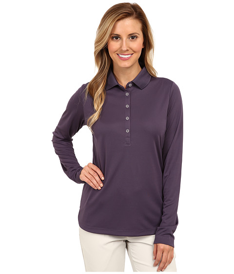 Nike Golf - Nike Victory L/S Polo (Dark Raisin/Dark Raisin) Women
