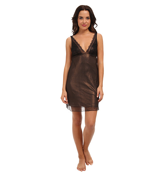 Cosabella - Amalfi Babydoll (Black/Copper) Women
