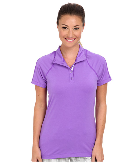 Nike Golf - Racer Polo (Hyper Grape) Women's Short Sleeve Knit