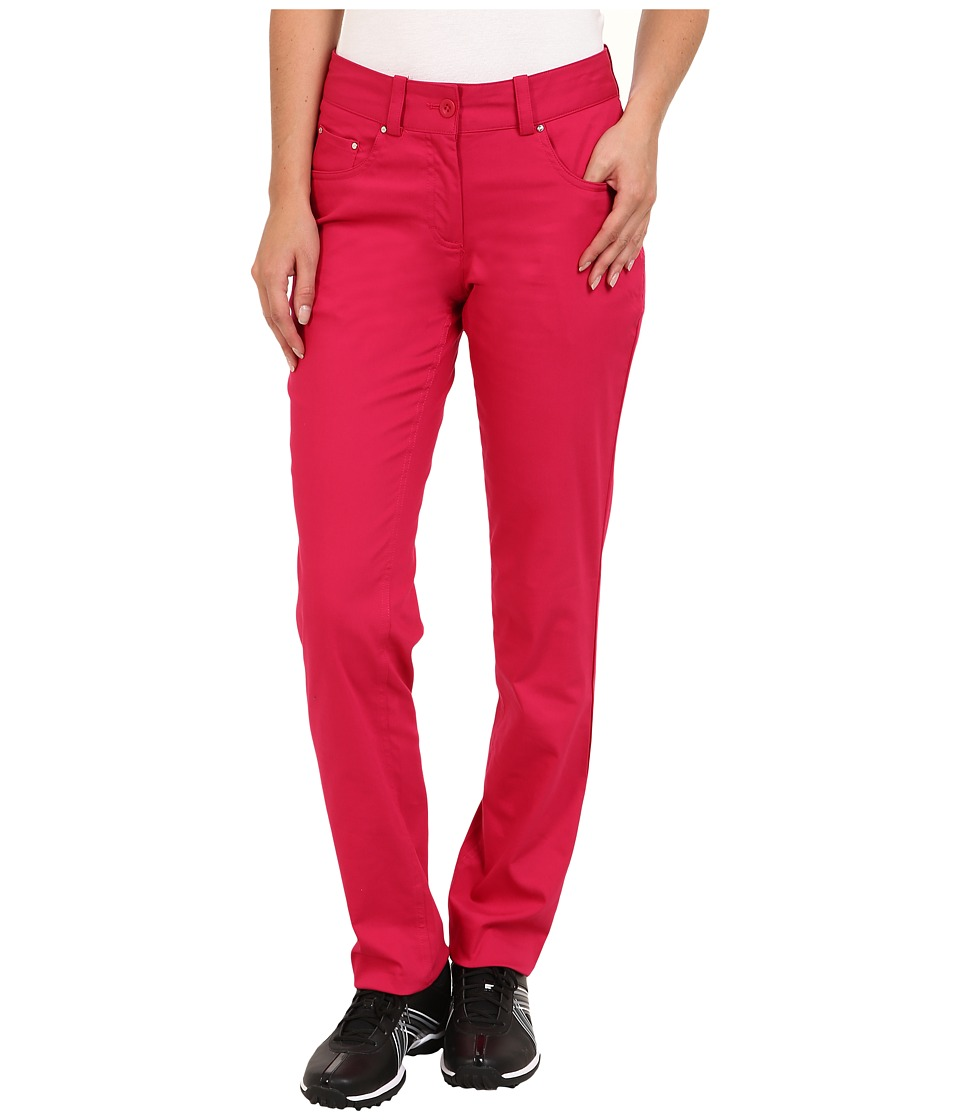 Nike Golf - Jeans Style Pant (Fuchsia Force/Metallic Silver) Women's Casual Pants