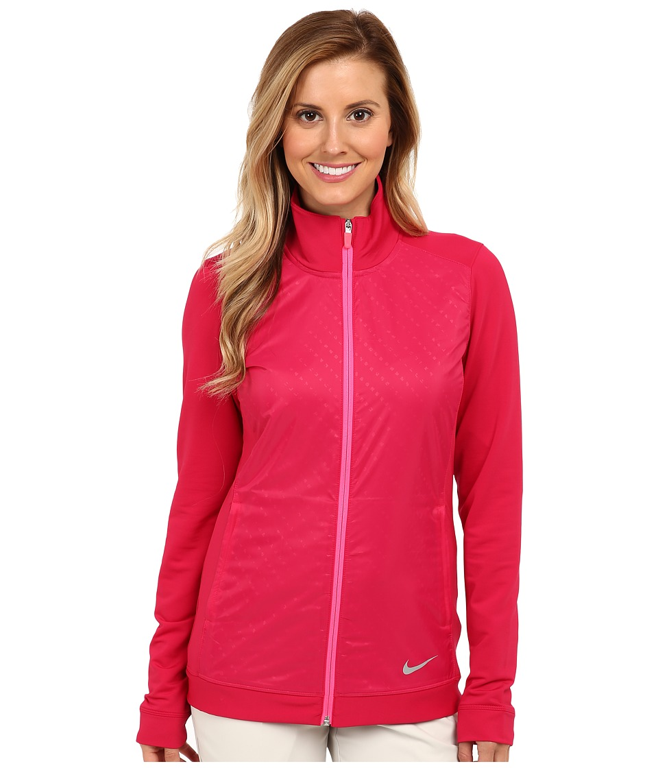 Nike Golf - Key Item Full-Zip (Fuchsia Force) Women's Coat