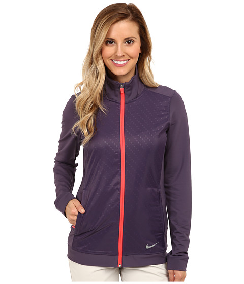 Nike Golf - Key Item Full-Zip (Dark Raisin) Women's Coat