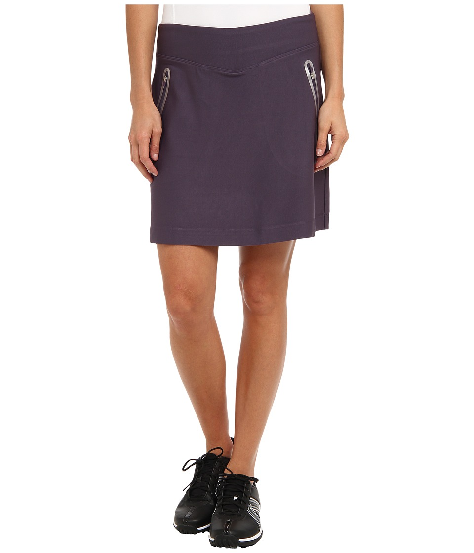 Nike Golf - No Sew Knit Skort (Dark Raisin/Metallic Silver) Women's Skort