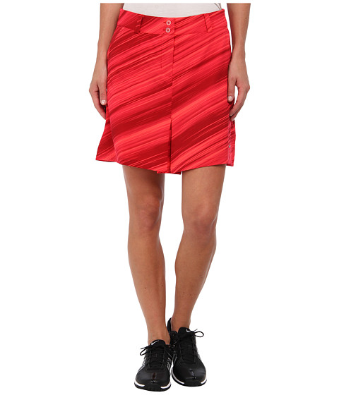 Nike Golf - Speed Stripe Skort (Action Red/Metallic Silver) Women