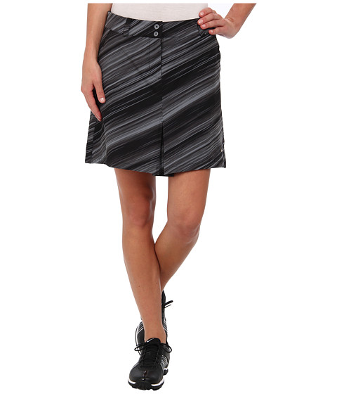Nike Golf - Speed Stripe Skort (Black/Metallic Silver) Women's Skort