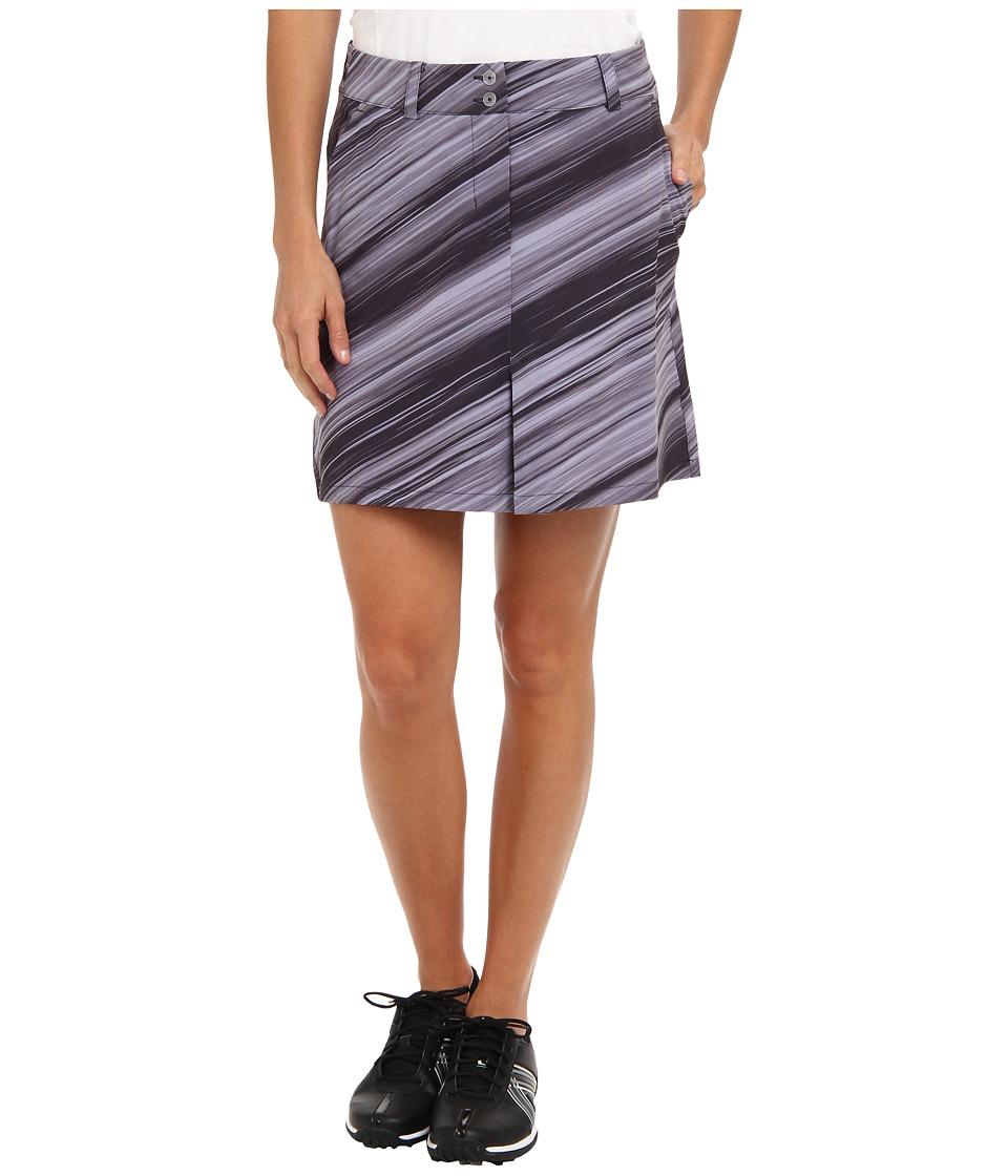 Nike Golf Speed Stripe Skort (Dark Raisin/Metallic Silver) Women
