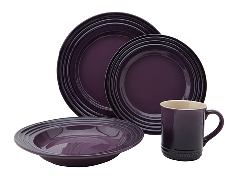 Le Creuset - 4 Piece Dinnerware Set (Cassis) Cookware Sets