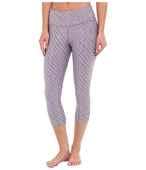 Nike Golf - Nike Pro Pattern Tights (Purple Steel/Metallic Silver) Women's Clothing