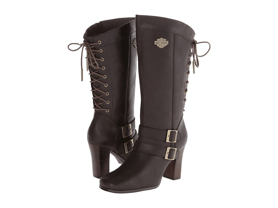 Harley-Davidson - Shelia (Dark Brown) Women
