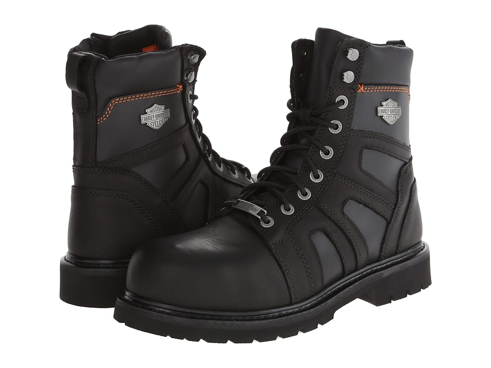 Harley-Davidson Craig Steel Toe (Black) Men