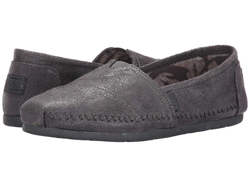 BOBS from SKECHERS - Luxe Bobs - Rain Dance (Charcoal) Women's Shoes