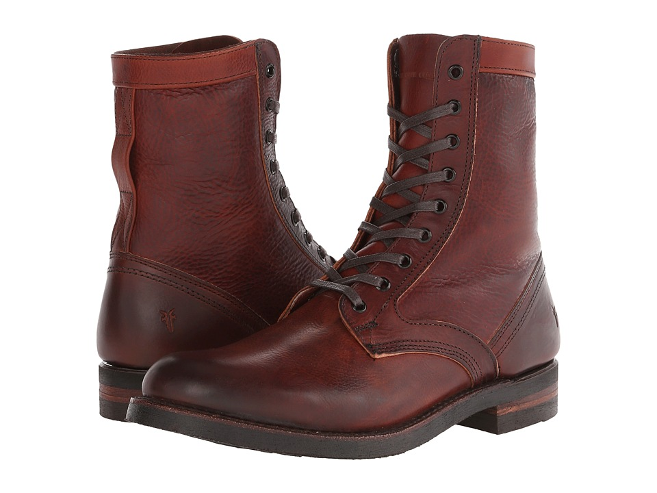 Frye - Engineer Tall Lace (Redwood Oiled Leather) Men