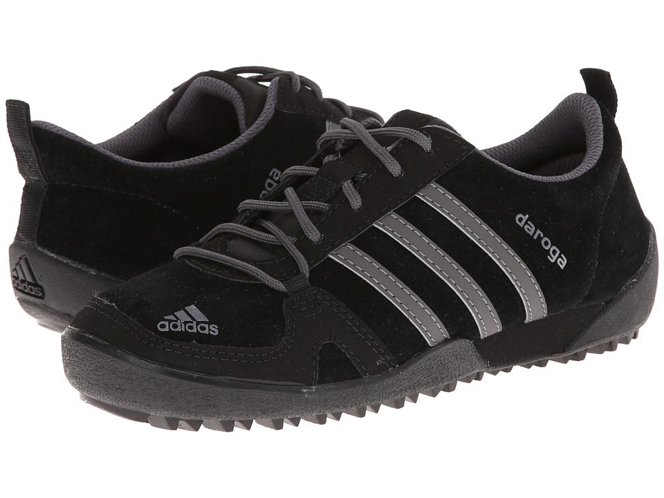 adidas Outdoor Kids - Daroga Leather (Little Kid/Big Kid) (Black/Granite/Black) Kids Shoes