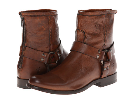 Frye - Phillip Harness (Whiskey Soft Antique) Women's Pull-on Boots