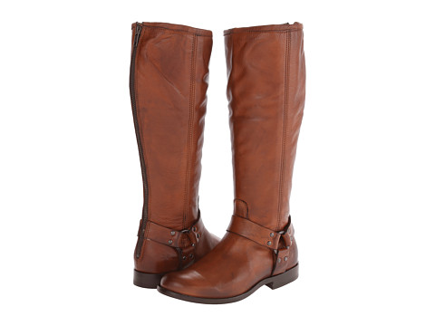 Frye - Phillip Harness Tall (Whiskey Soft Antique) Women