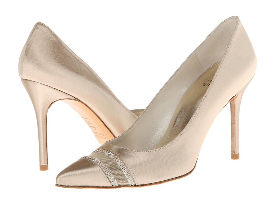 Stuart Weitzman Bridal & Evening Collection Lyrics (Blonde Satin) High Heels