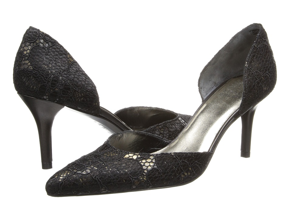 Stuart Weitzman Bridal & Evening Collection Para (Ant Black Day Lace 1) High Heels