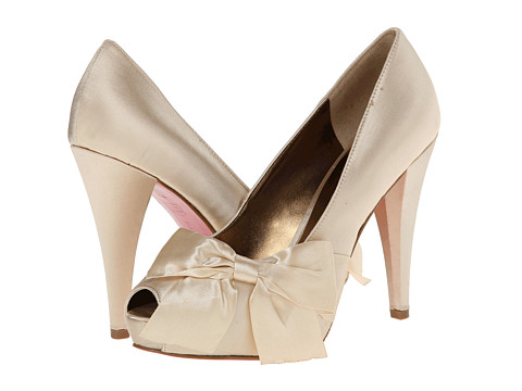Paris Hilton - Destiny (Ivory Satin) High Heels