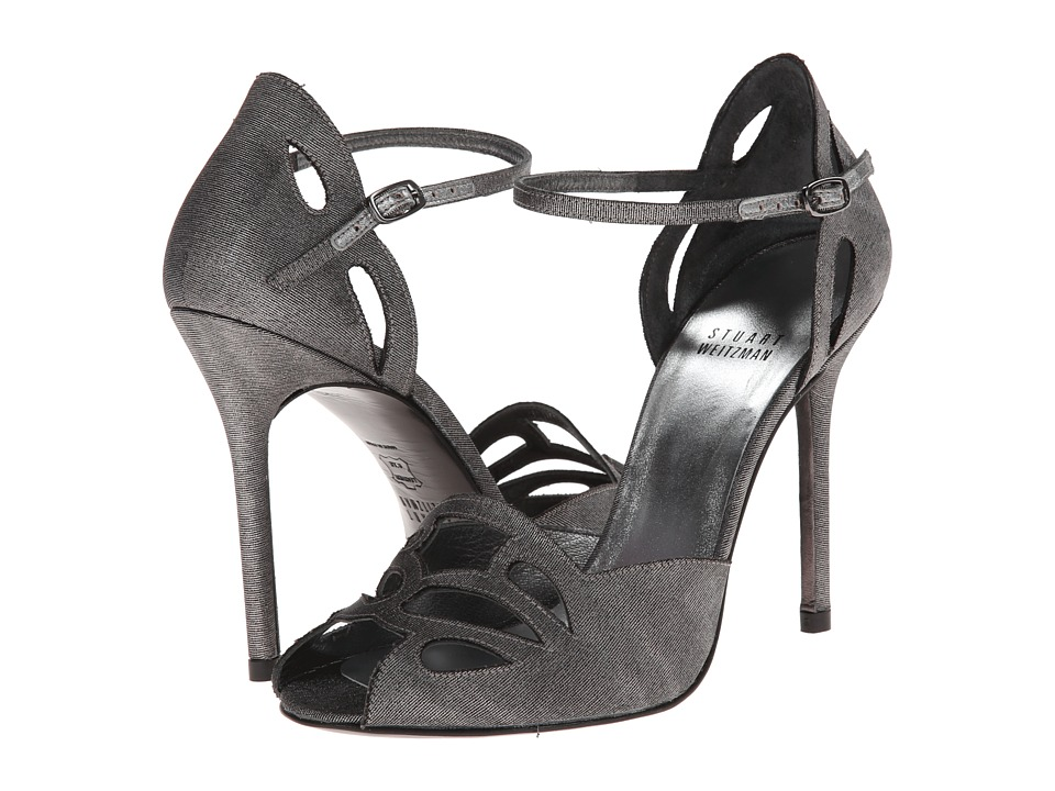 Stuart Weitzman Bridal & Evening Collection - Thrill (Steel Moire) High Heels