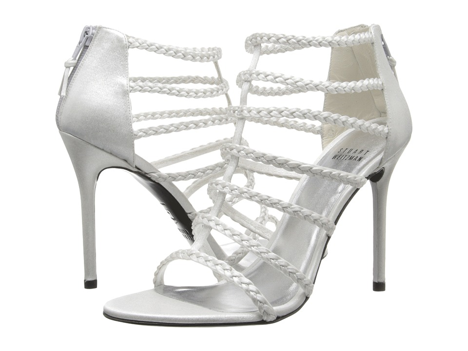 Stuart Weitzman Bridal & Evening Collection Truelove (Silver Raso) High Heels