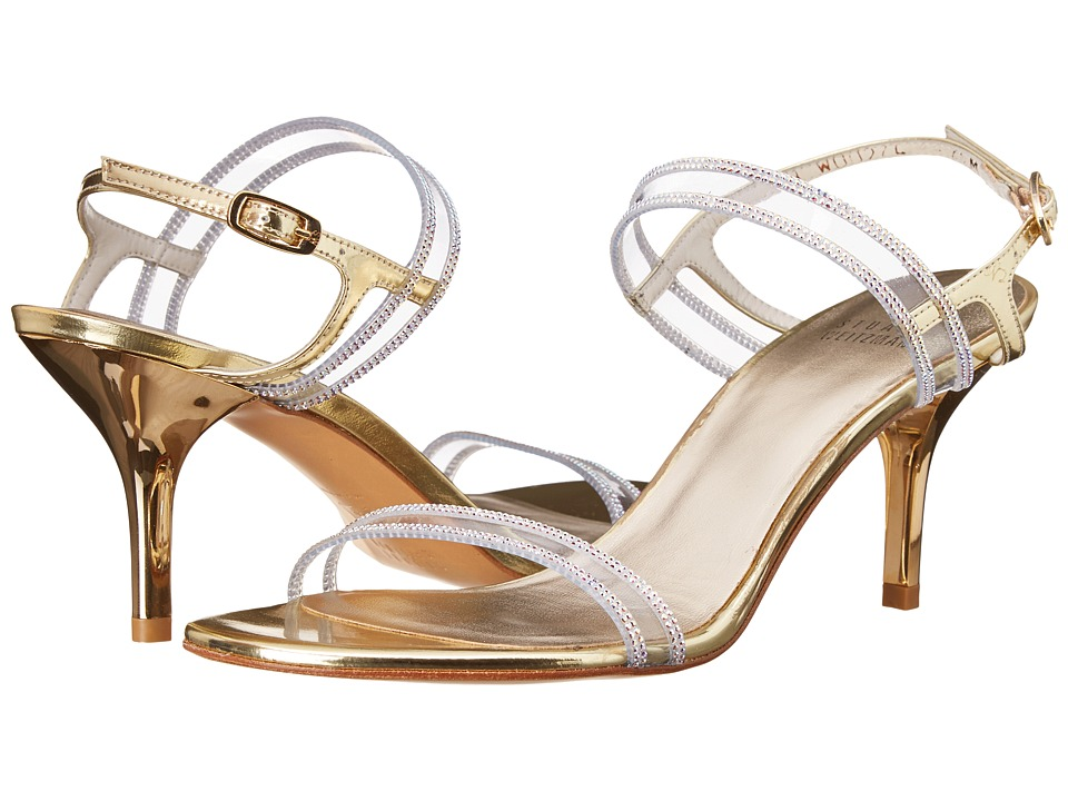 Stuart Weitzman Bridal & Evening Collection Cinematic (Pale Gold Specchio) High Heels