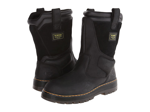 Dr. Martens - Fence ST Wellington Boot (Black Wyoming) Men