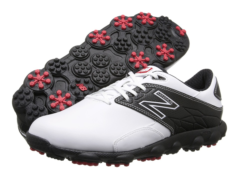 New Balance Golf - Minimus LX (White/Black) Men's Golf Shoes