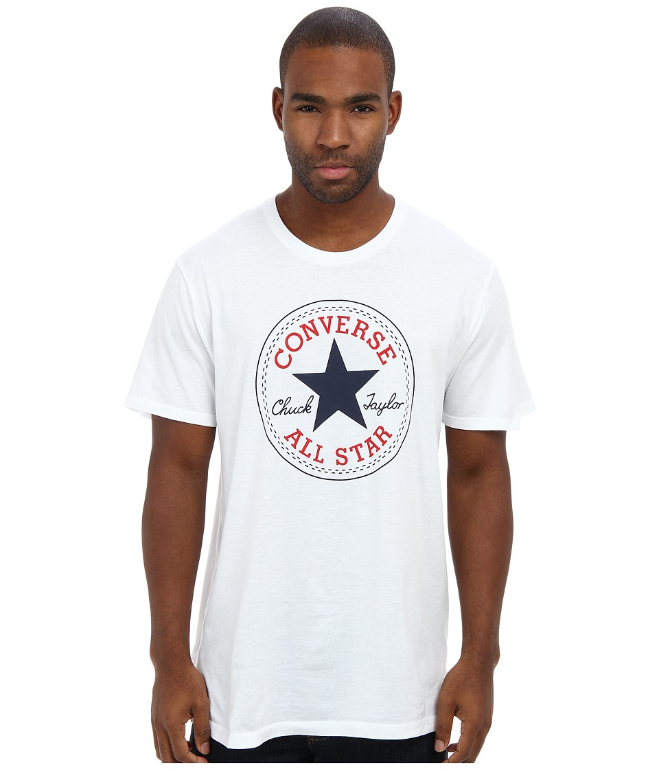 Converse - Core Chuck Tee (White) Men's T Shirt